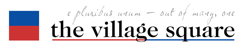 e pluribus unum - out of many, one • the villiage square logo